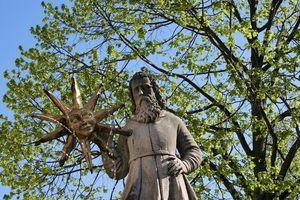 Mann mit der Sonne Aigen-Schlägl