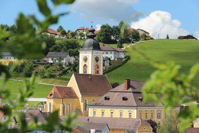 Pfarrkirche und Pfarrhof Niederwaldkirchen Niederwaldkirchen