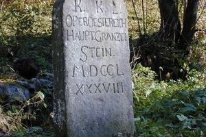 Maria Theresianischer Hauptgränzenstein St. Oswald