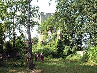 Ruine Haichenbach Hofkirchen i. M.